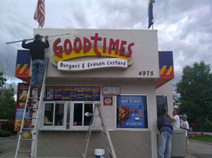 Goodtimes Burgers & Frozen Custard - Exterior Painting Services